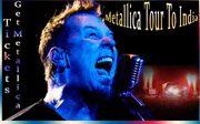 Metallica Announce India Tour 2011 Dates,  Metallica India