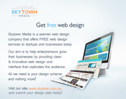 Professionally-done Web Design For Free From Skytown Media!
