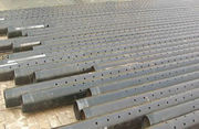 Perforated liner – base pipe for sand control screens